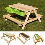 Table à sable & eau en bois