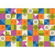 Tapis formes et couleurs + 10 dés