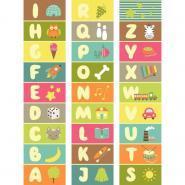 Lot de 3 bandes alphabet 150cm