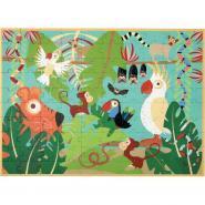 Maxi puzzle 100 pièces, la jungle