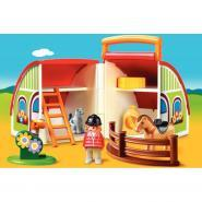 Centre équestre transportable PLAYMOBIL 1-2-3