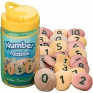 Baril de 22 galets les chiffres de 0 à 10