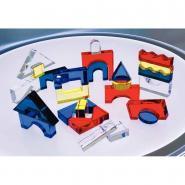 Set de 25 blocs acrylique translucides