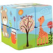 Puzzle cubes magiques en tissu - Boite de 9