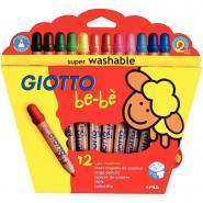 Crayon maxi Bébé - Etui de 12