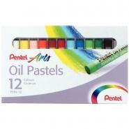 Crayon pastel à l'huile 8 mm - Boite de 12