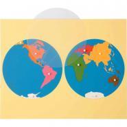 Planisphère du monde