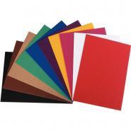 Carton ondulé coloris assortis format 25 x 35 cm - Paquet de 10 feuilles