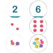 DISCOLUD nombres et quantités de 1 à 6
