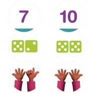 DISCOLUD nombres et quantités de 5 à 10