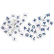 Pions-lettres majuscules + script