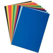 Feuilles affiche 80g - 60x80 cm - Bleu - Paquet de 25