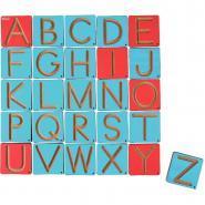 Pistes graphiques lettres capitales