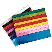 Papier crépon ordinaire - 200x50 cm - Jaune or - Paquet de 10 feuilles