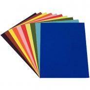 Papier dessin à grain 160g 50x65 couleur vive - Paquet de 24
