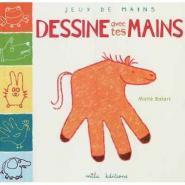 Livre dessine avec tes mains
