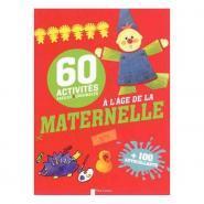 Livre 60 activités faciles et originales à l'âge de la maternelle