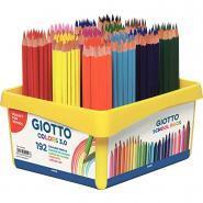 Crayon de couleur Giotto Colors 3.0 - Classpack de 192