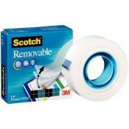 Scotch Magic 2 - Rouleau adhésif invisible repositionnable - 19mm x 33m