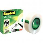 Scotch Magic - Rouleau adhésif  invisible - 19mm x33 m