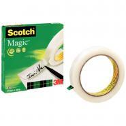 Scotch Magic - Rouleau adhésif  invisible - 19m x 66m
