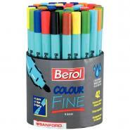 Feutres Colour Fine - Pointe fine - Pot de 42