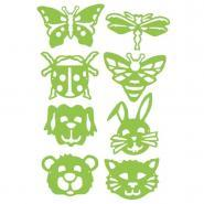 Gabarits masques Animaux & Insectes - Lot de 8