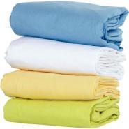 Sac de couchage drap housse - Blanc