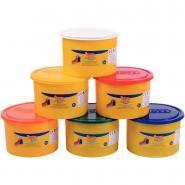 Pâte à jouer Blandiver - Pack de 6 pots de 480g