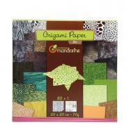 Avenue mandarine - Papier Origami Zoo - Pochette 60