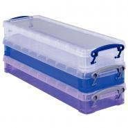 Boîtes de rangement de 0.8L - Pack de 3