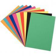 Papier dessin couleur 50x65 cm - 250g - Paquet de 100 feuilles