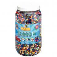 Perles à repasser taille midi - Baril de 13 000
