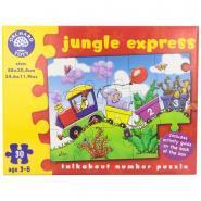 Puzzle de sol Jungle Express - 30 pièces