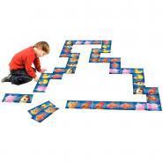 Domino de sol - Thème les animaux rigolos