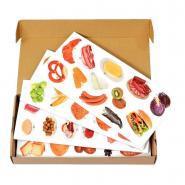 Pyramide de 91 aliments magnétiques