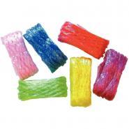 Echeveaux de cellophane - Couleurs assorties - Lot de 6