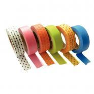 "Ruban adhésif Masking tape ""Printemps"" - Lot de 6"