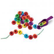 Atelier de laçage - Alphabet bonbon