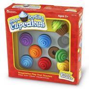 Cupcakes à formes + Plateau - Boite de 8