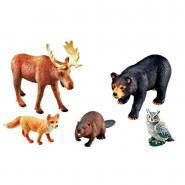 Jumbo animaux de la forêt - Lot de 5