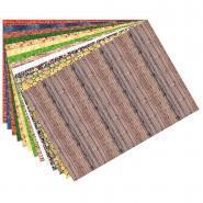Feuilles de papier Motifs structure - 80 g/m² - Paquet de 13