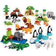 Set animaux sauvages DUPLO, 104 pièces