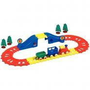 Circuit de train Viking, contient 23 pièces