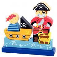 Puzzle magnétique 3D - Pirates