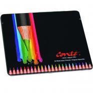 Crayons de couleurs aquarellables assortis - Boite de 24