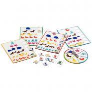 Djeco - Loto des chiffres avec roulette