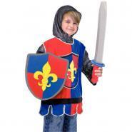 """Déguisement """"chevalier"""" + accessoires"""