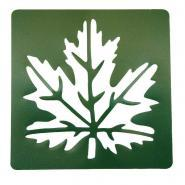 Pochoirs feuilles d'arbres - Paquet de 12