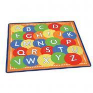 Tapis 2mx2m alphabet 26 lettres